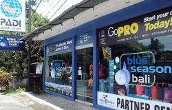 Scuba diving facilities shop retail center