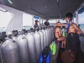 scuba diving vessel support trips
