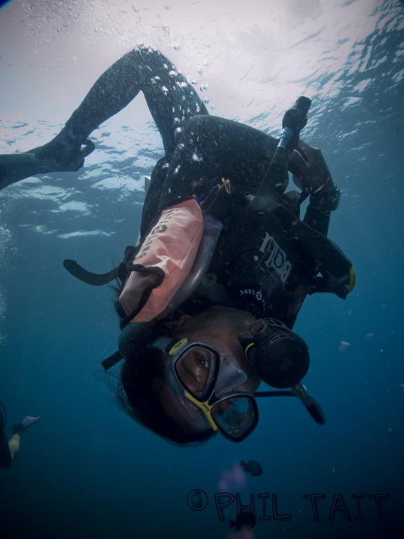 Rescue of an Unconscious Diver Underwater