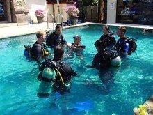 pool divers circle