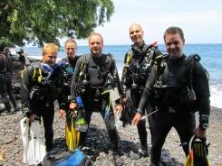 bali internships divers