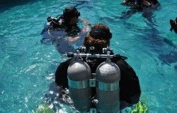 diving group pool
