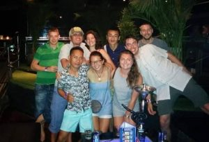 Dinner Sanur - Diving Internship Blue Season Bali