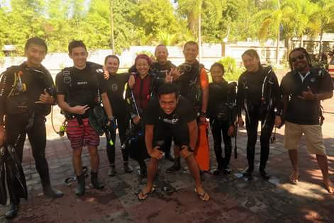 A Divemaster internship in Bali that changed my life entirely.