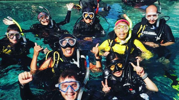 PADI Pro - Divemaster Internship - Blue Season Bali