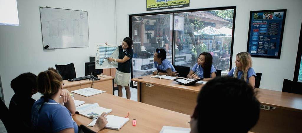 PADI IDC Classroom Teaching Presentation