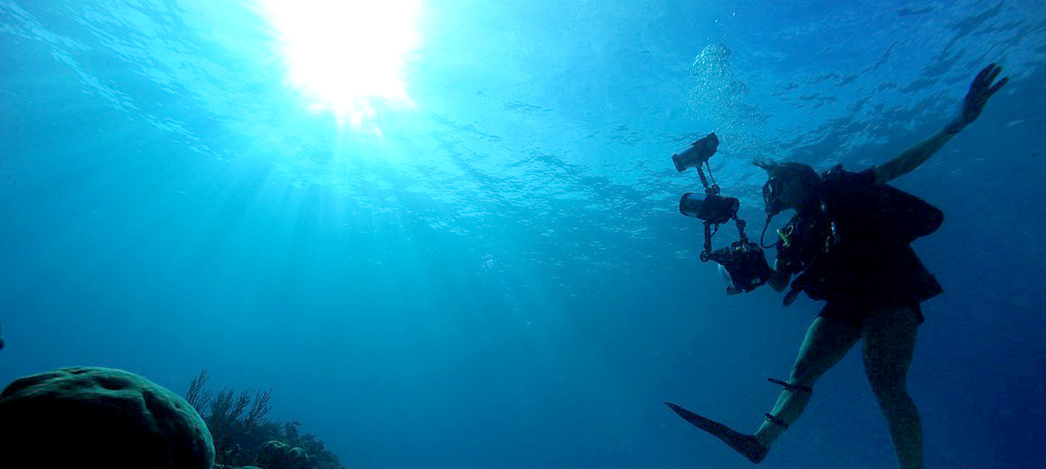 Diver control buoyancy by Breathing techniques