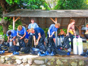 life of a divemaster in Bali