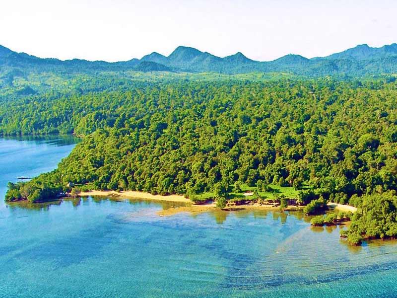 beautiful shore