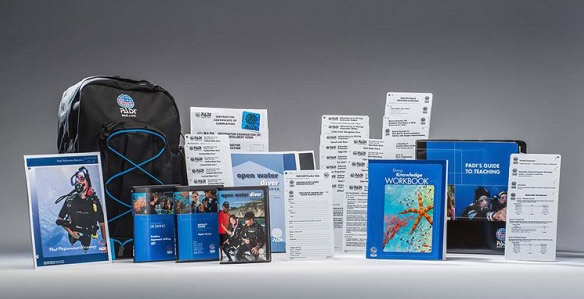The PADI Instructor Examination Package