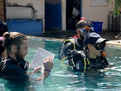 IDC diving test