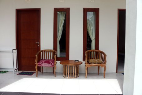room outside idc bali
