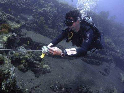 underwater training