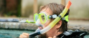 how to do breathing techniques by snorkel