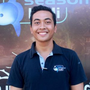 PADI Pro Agus in Bali