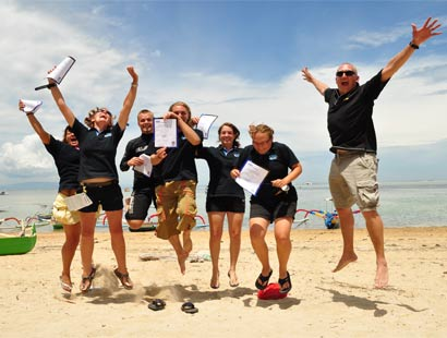 PADI Divemaster Course Certification Celebrations