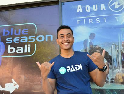 PADI Instrucutor Pro Agus in Bali
