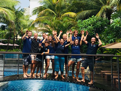 PADI Divemaster Candidate in Bali with Course Director