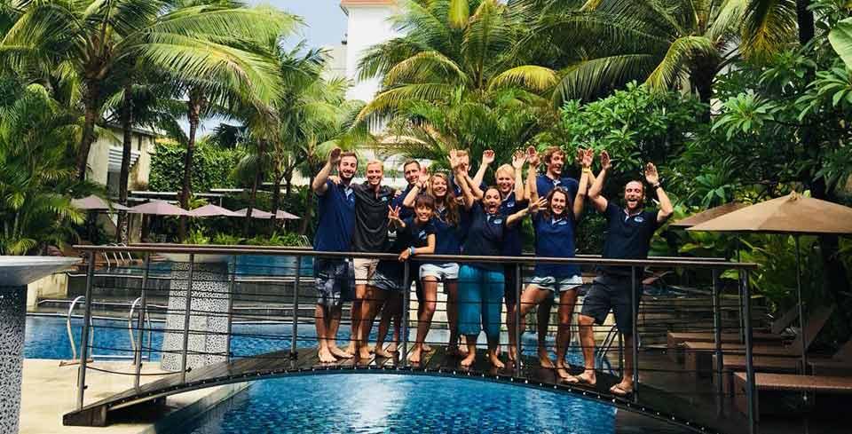 Go Pro becoming PADI Divemaster In Bali