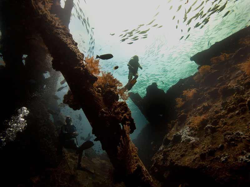 idc diving tulamben ship wreck dive centre
