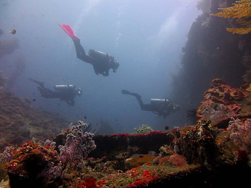 Divemaster Training USAT Liberty Wreck Bali