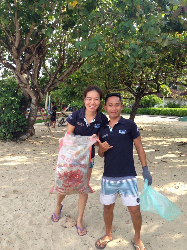 Bali Conservation - Beach Clean ups Blue Season Bali