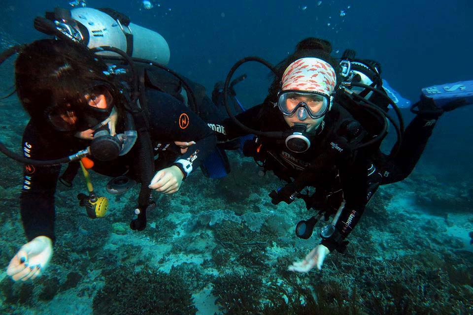 PADI Divemasters Padang Bai Bali