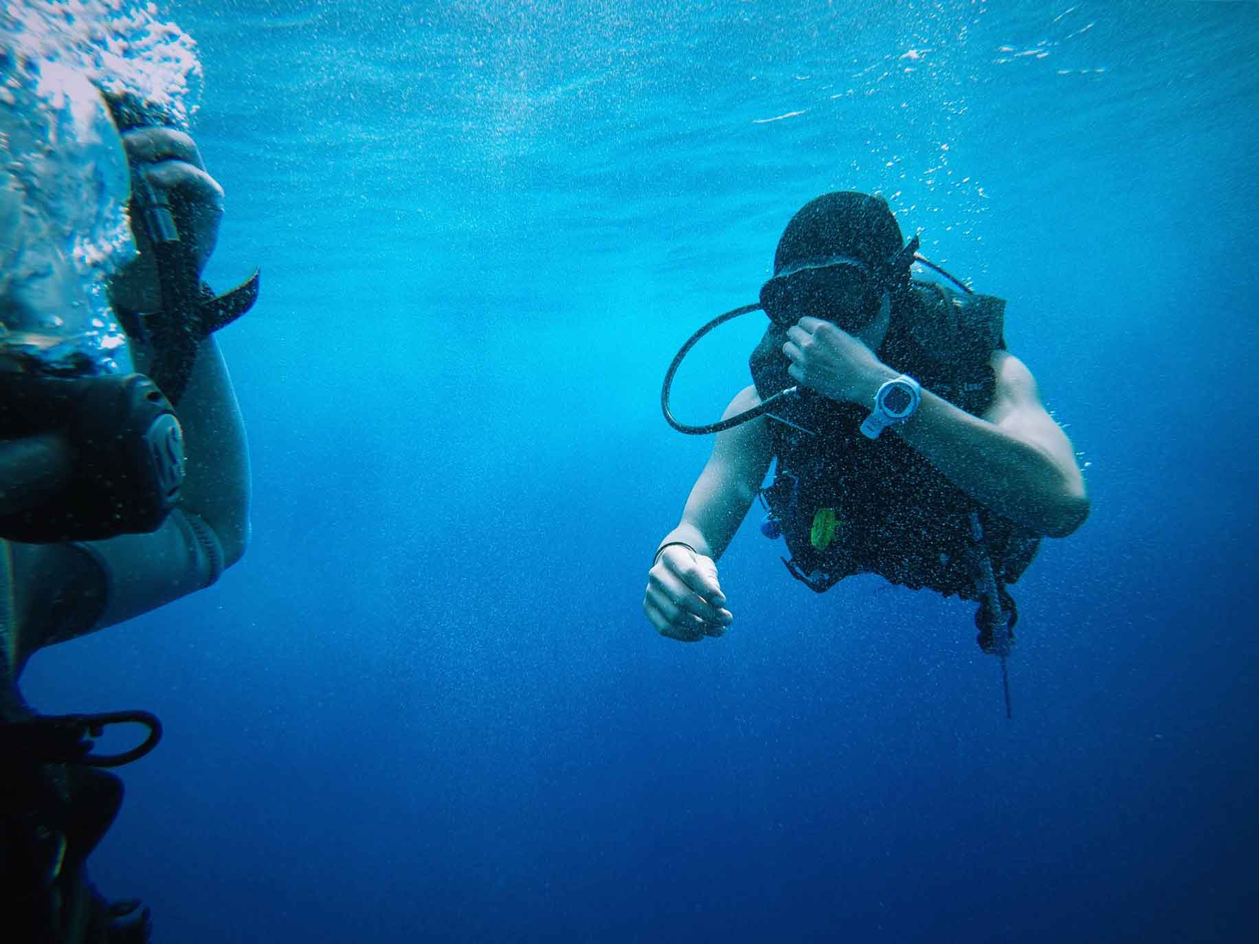 conduction diving