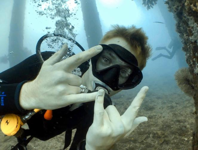 First time Diving experience